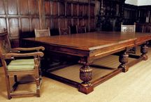 Dual-purpose dining or board room / convertible rollover & wind-up billiard tables for dining or board room, handmade in England by Sir William Bentley Billiards #billiards #dining #pool #snooker