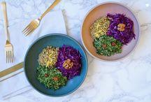 Les jolies assiettes complètes / Des assiettes végétales et complètes pour manger sain, manger bien, manger local, manger de saison!