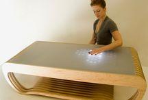 Multimedia scenography / furniture