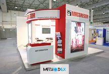 طراحی غرفه نمایشگاهی Macgregor