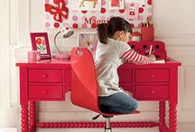 Kids Study, play & Craft areas / by Chelsea Hart
