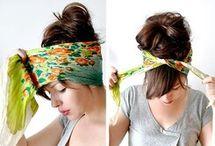 HAIR WRAPS / by Betty Monroy Jamieson