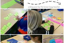 Word Work Centers / Primary reading centers for phonics and spelling skills.