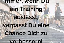 Fitnesssprüche