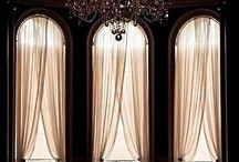 шторы в арочные окна
