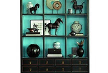 Display cabinets / by Vicky McCrary