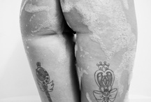 iTatoo3 / tattoos ink legs thighs calves feet / by Nelie Rednow