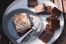 Chocolate desserts / Chocolate desserts I have made or will make