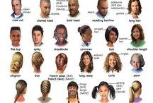 hair vocab