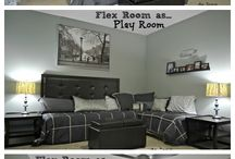 Guest and play room
