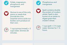 Quinoa & Other Grains / Clean Eating / by Kajun Kween