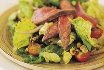 Σαλάτα με ψητή μπριζόλα / Μια απολαυστική συνταγή για σαλάτα με μπριζόλα!