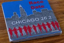 Chicago Race Gifts / Know someone who is running the big Chicago Race? Congratulate them with one of our Chicago Race Gifts! Find them all here https://www.goneforarun.com/chicago-race-gifts-for-runners/