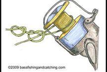 Fishing knot reel