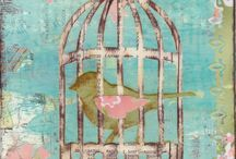 kuş-kafes