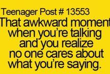 Awkward moments  / Awakard=the story of my life / by Virginia McCain