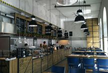 Ravintolasisustus / Ravintoloita, joiden sisustus tekee vaikutuksen