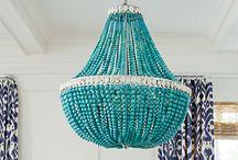 Lighting,chandeliers..etc  to complete my home deco