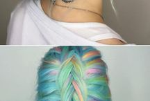 Hair styles/colours