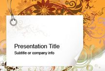 PowerPoint Templates / by Lindsay Sichta