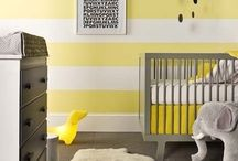modern nursery / clean and modern nursery decor inspiration for the urban baby / by Minted