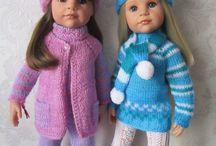 panenky.. zimní oblečení