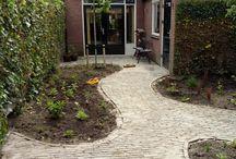 Kleine tuin in Engelse Stijl
