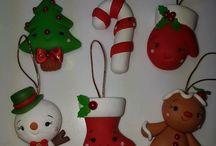 Porcelana navidad