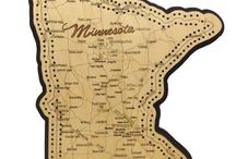 Minnesota Love / We love to support local stores and what better location than our home town. Collections of pins from our beautiful state.
