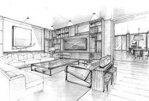 Yorkville Residence Design Sketches