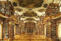 Beautiful libraries / Charming homes for books