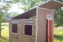Σπίτι από χαρτόνι