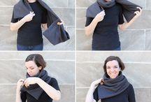 šátek -šála