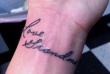 tattoos / by Amanda Runyon