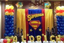 superman theme party
