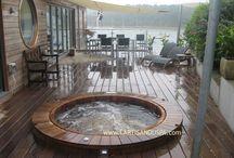 spa bois terrasse