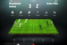 Football game UI