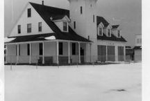Historic Photos of the Station / Historic pictures of the Coast Guard Station