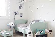 Habitaciones infantiles en mint