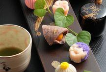 鮮やかで美しい和菓子