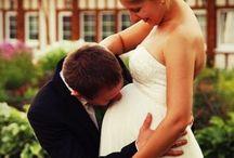 Áldott állapot • Pregnant bride