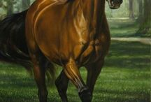 Horses In Art- Without Riding Tack (Full Body)