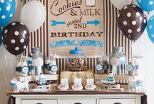 Cookies and milk party ideas / by Dawn White