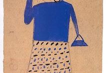 ART-Bill Traylor / African America-circa World War II