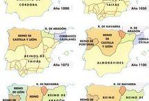 Mapas y escudos