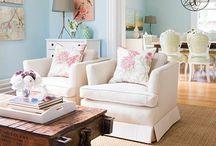 living room / by Elizabeth Waynick