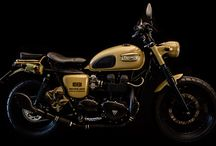 Triumph Boneville / Custom british army