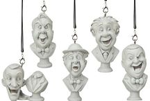 Haunted Mansion Busts Ornament Set