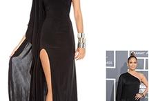 Celebs and black dresses