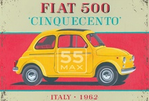 Fiat 500 Posters
